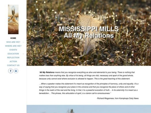 Mississippi Mills All My Relations Cover Image